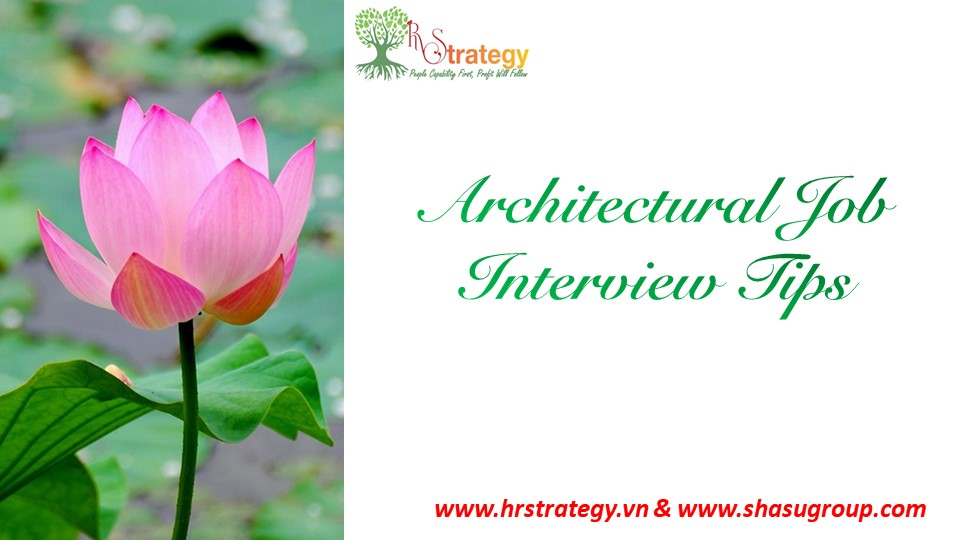 Architectural Job Interview Tips
