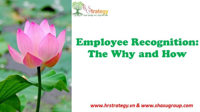 Employee Recognition: The Why and How