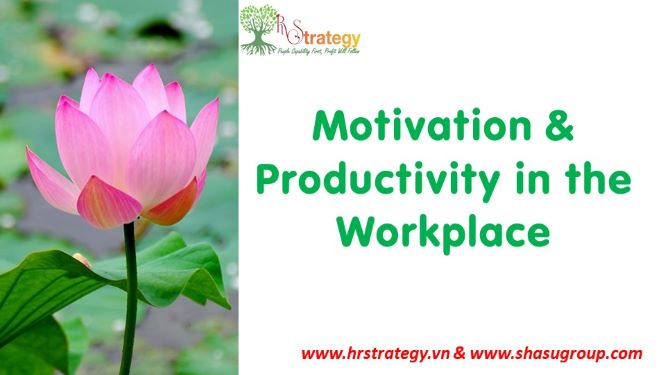Motivation & Productivity in the Workplace