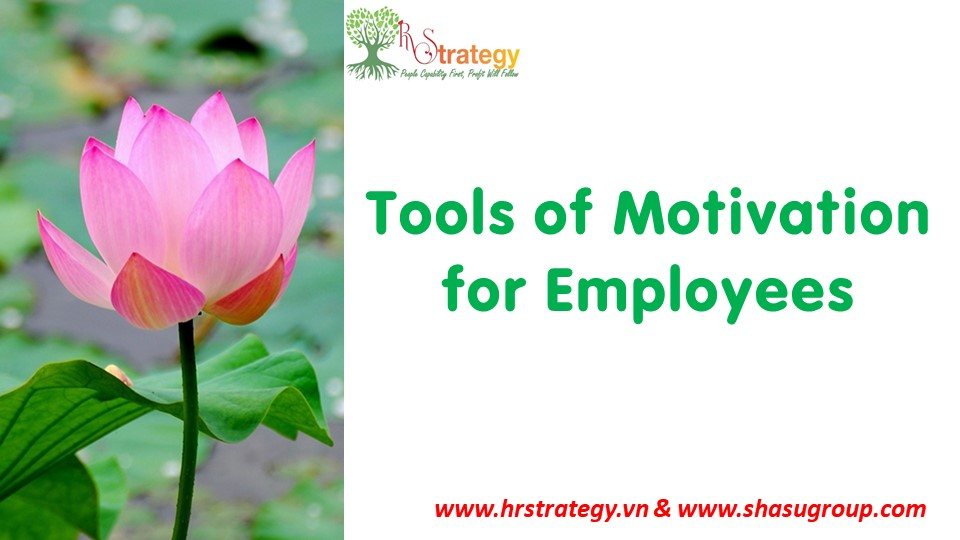Tools of Motivation for Employees