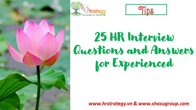 25 HR Interview Questions and Answers for Experienced