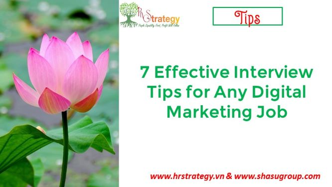 7 Effective Interview Tips for Any Digital Marketing Job