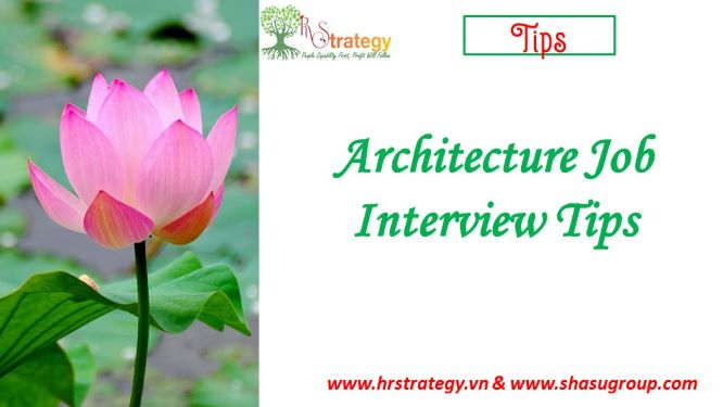 Architecture Job Interview Tips