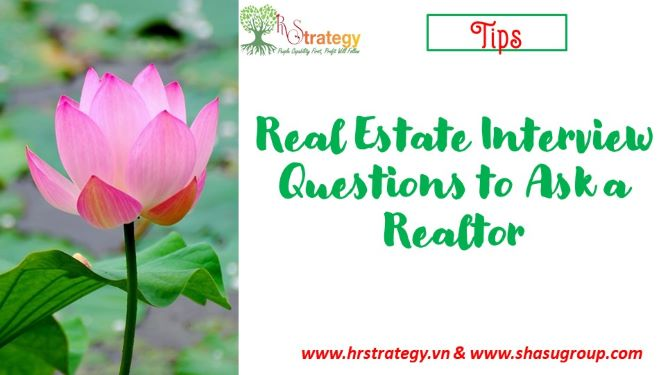 Real Estate Interview Questions to Ask a Realtor