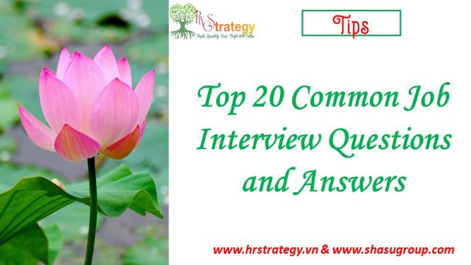 Top 20 Common Job Interview Questions and Answers