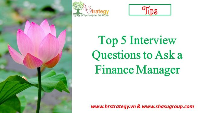 Top 5 Interview Questions to Ask a Finance Manager
