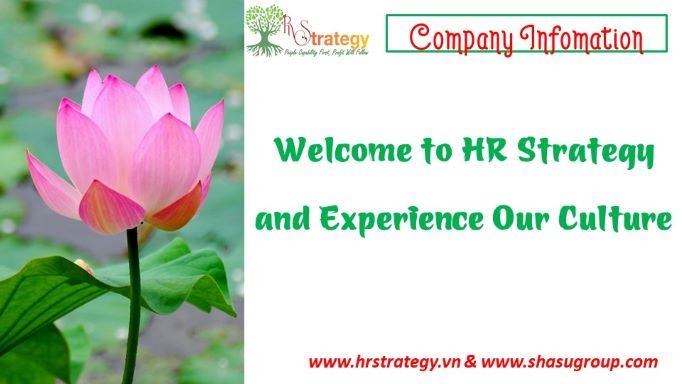 Welcome to HR Strategy and Experience Our Culture