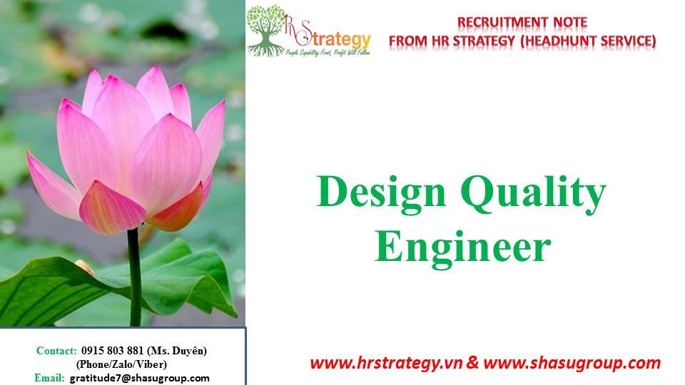 Design Quality Engineer