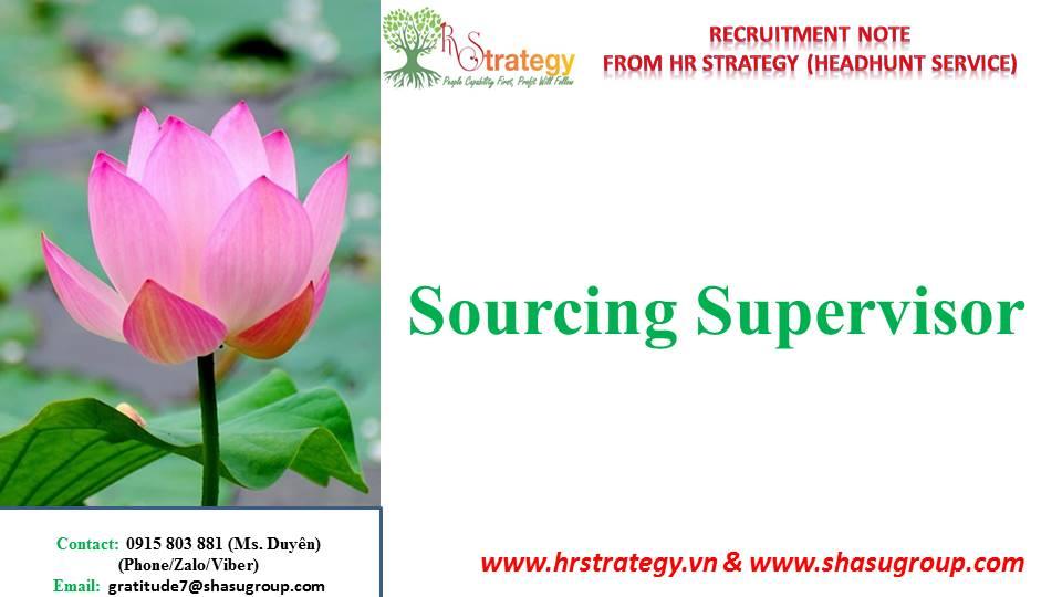Sourcing Supervisor